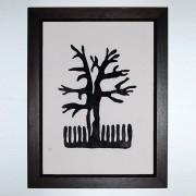 Vasilisas Tree Woodcut Print