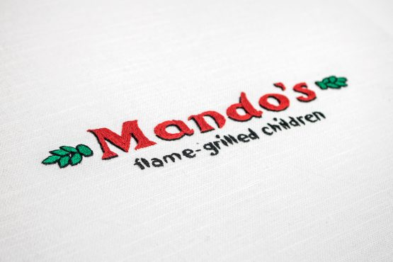 A subverted Nando's chicken logo