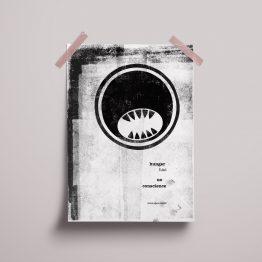 Cannibal Emoji Poster Mock Up