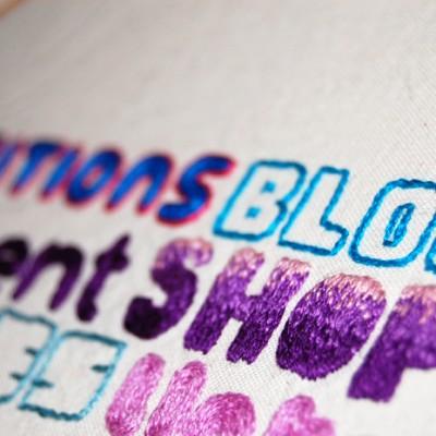 Stitching Spikeworld 2012