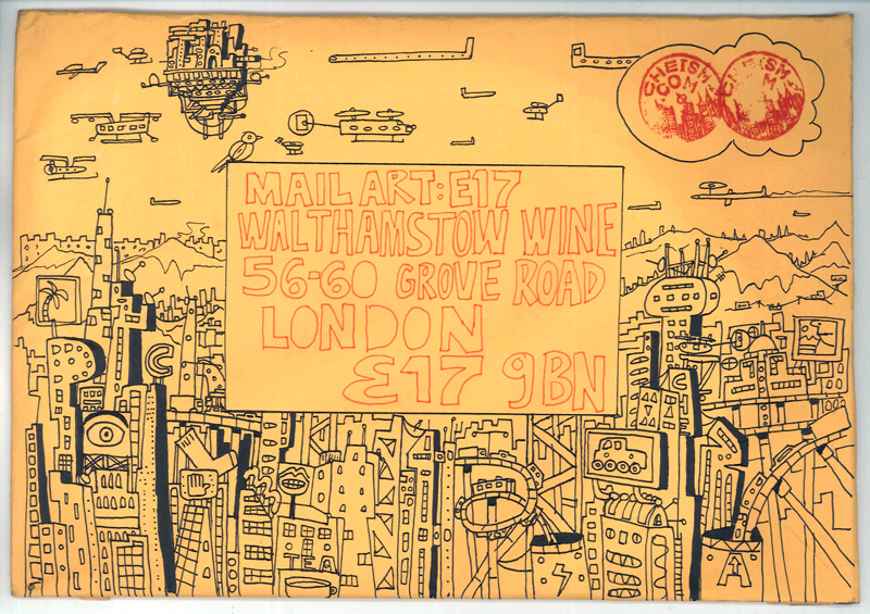 Mail Art by Chetan Kumar | www.cheism.com