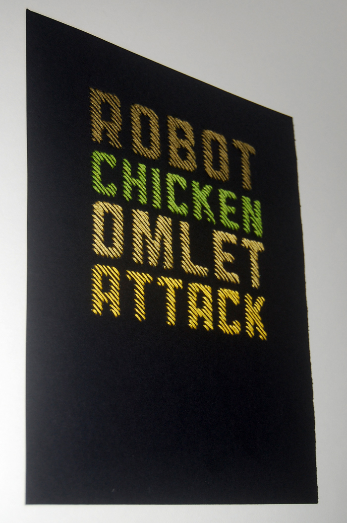 Robot Chicken Omlet Attack | Spike Dennis 2012