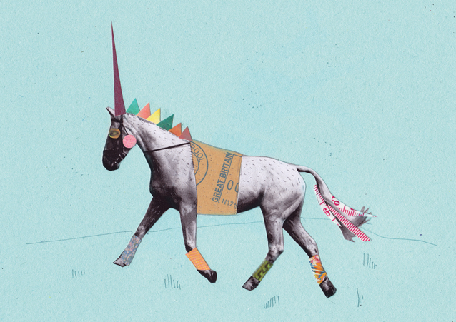 Ruth Mansley - Unicorn with Leg Warmers