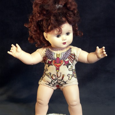 Tattooed Baby Doll by Sherri Lynn Wood