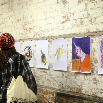 Charmed Illustration Exhibition | The Print Market Project 2012