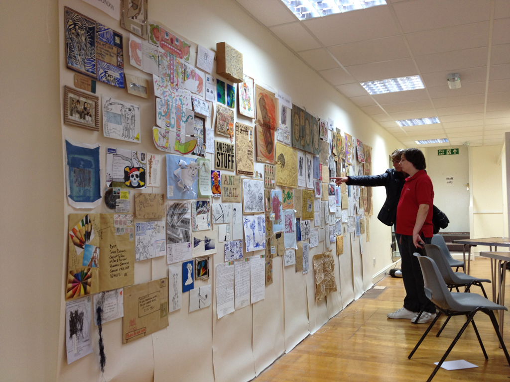 We Are Bedford Mail Art Exhibition