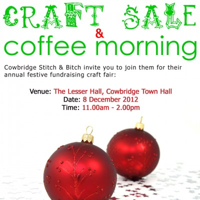 Cowbridge Christmas Craft Sale