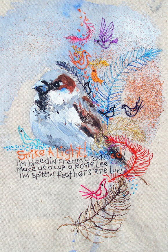 Mimilove Forever's Embroideries by Karen Grenfell