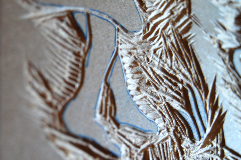 Woodcut Work in Progress