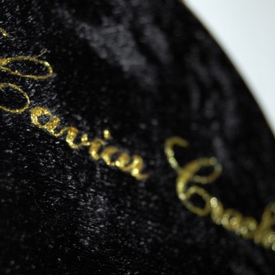 Gold Caviar Embroidery