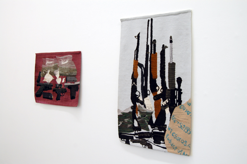 Tapestries by Erin Riley | Hemmed In Exhibition 2012/2013