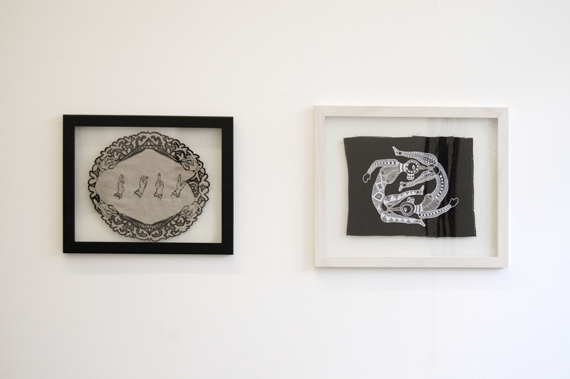 Circle of Life by Spike Dennis (Right) | Hemmed In Exhibition 2012/2013