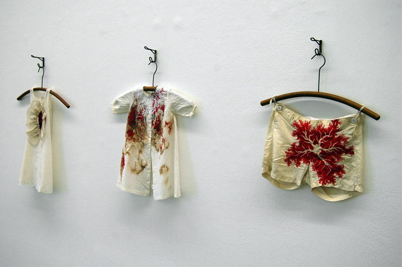 Hemmed In Embroidery Exhibition at MK Gallery