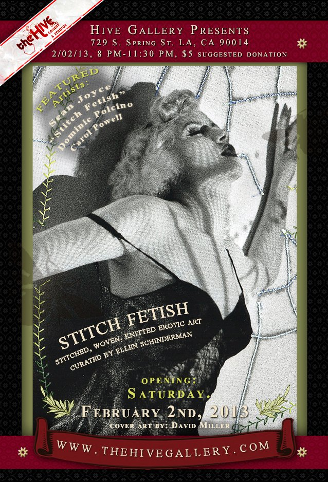 Stitch Fetish Exhibition | Hive Gallery