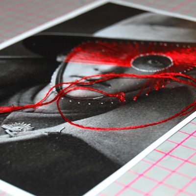 Diffusion Festival Embroidered Photographs Workshop