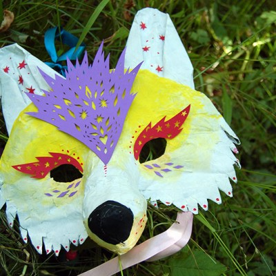 Layla's Wolf Mask for Stockholm Fringe Festival
