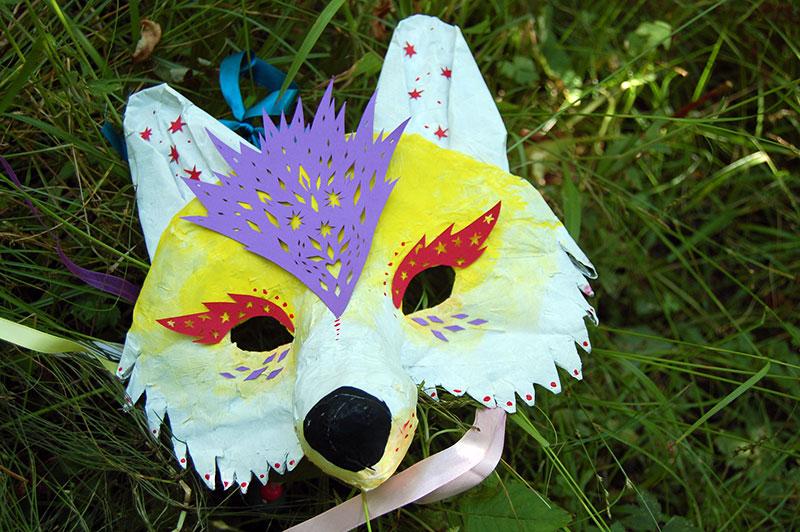 Layla's Wolf Mask for Stockholm Fringe Festival