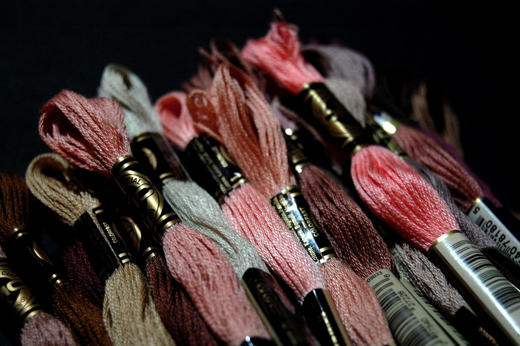 30 Shades of Flesh DMC Threads