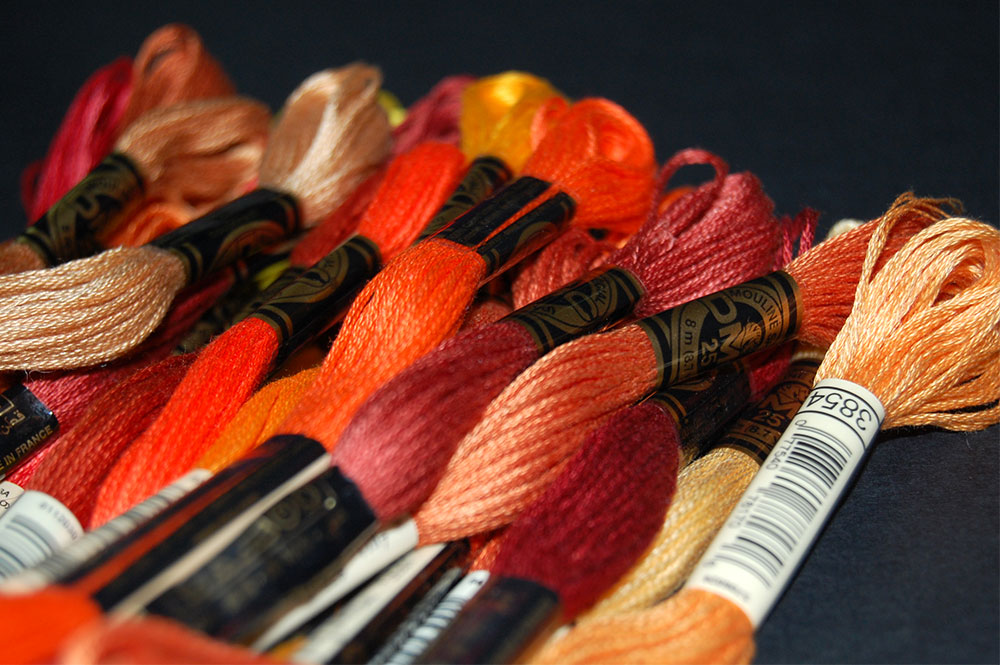 30 Shades of Autumn DMC Threads
