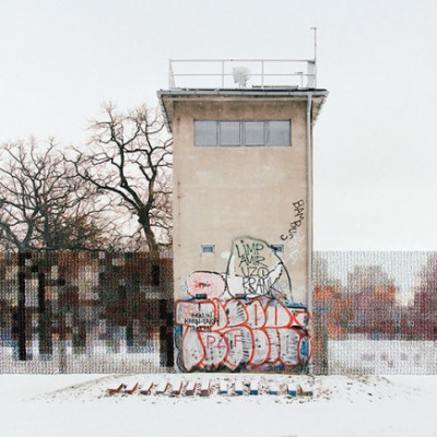 Diane Meyer - Cross Stitched Photographs of Berlin