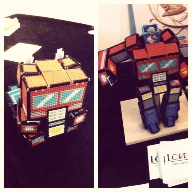 Lord Libidan - Transformers: Optimus Prime Cross Stitch