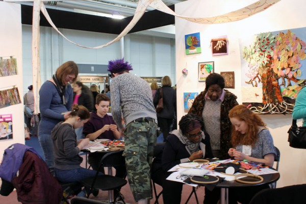 Spring Knitting & Stitching Show with Mr X Stitch