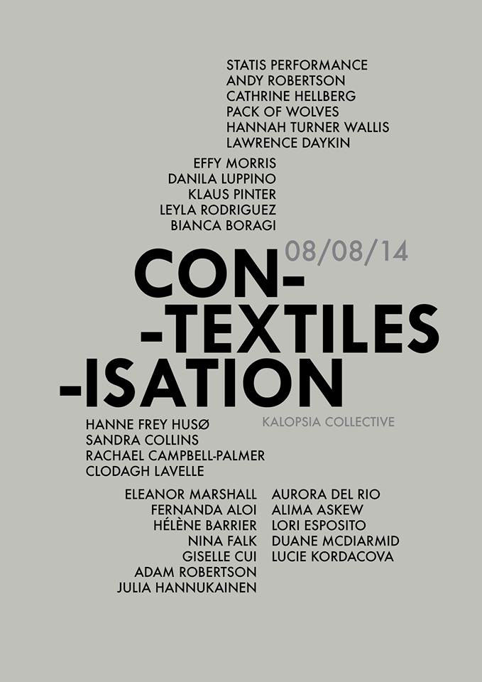 Kalopsia Con-Textiles-Isation Exhibition, Edinburgh Artists
