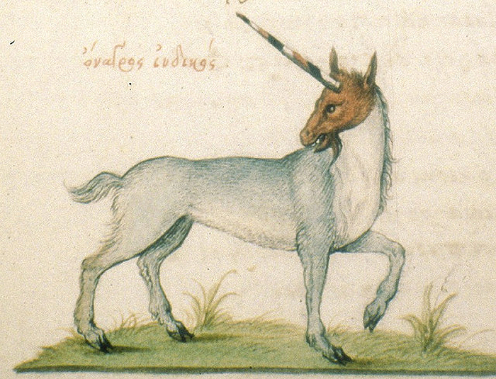 French Unicorn 1564