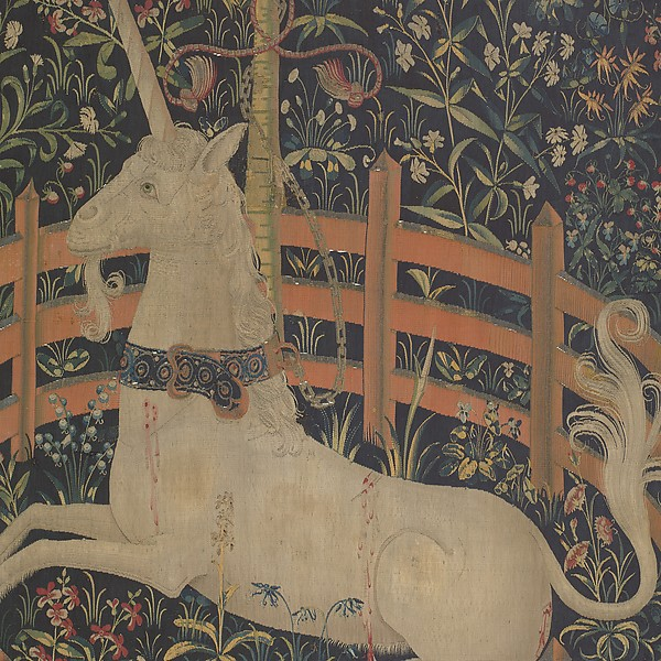 The Unicorn in Captivity | Met Museum New York