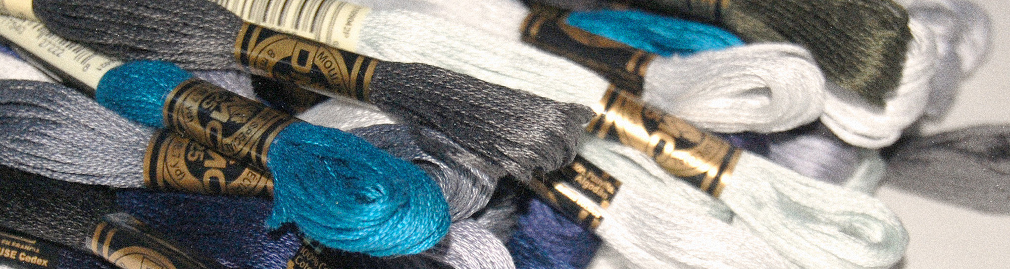 Winter Threads DMC Colours