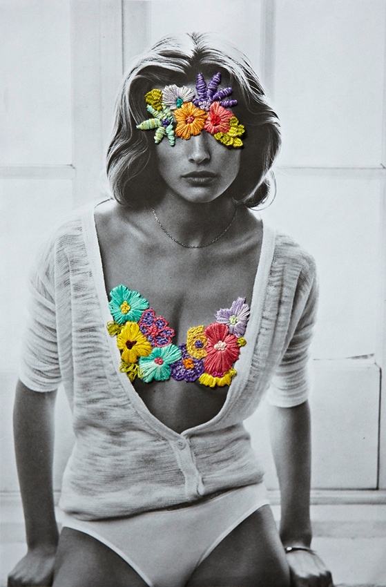 Jose Romussi Embroidered Fashion Photographs