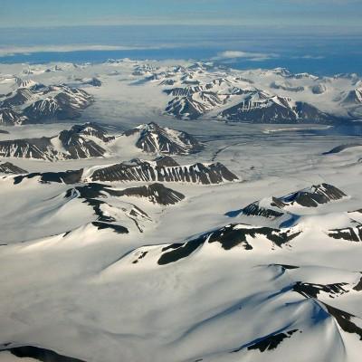 Svalbard Spitsbergen during August