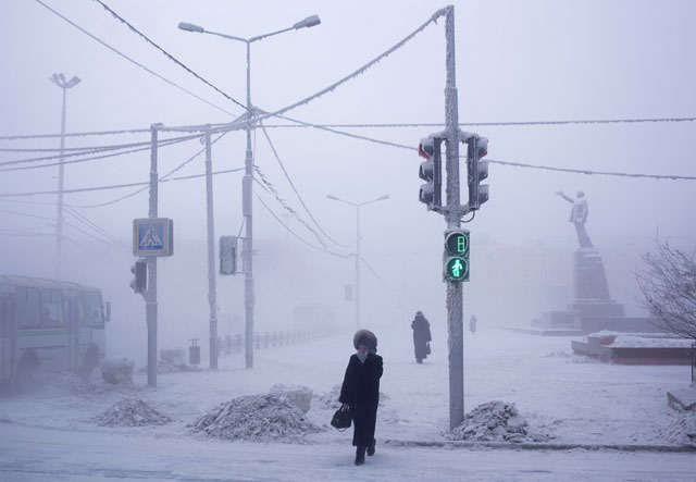 Oymyakon by  Amos Chapple