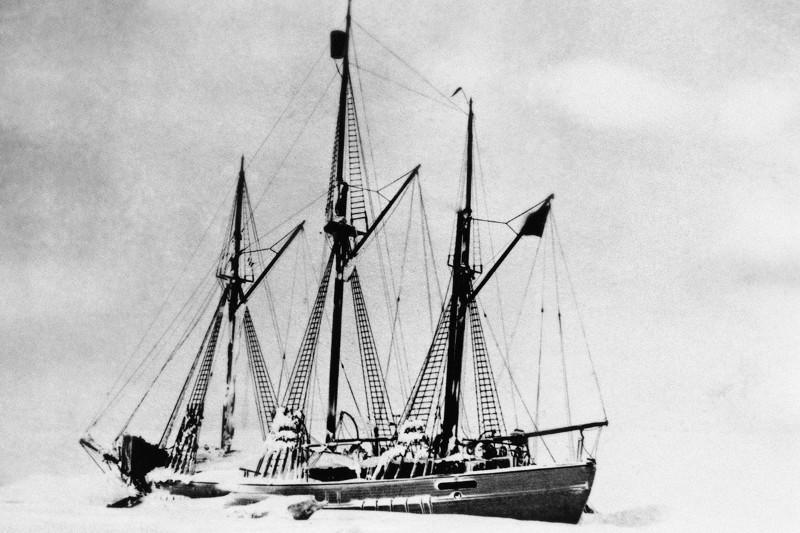 Roald Amundsen's Polar Ship