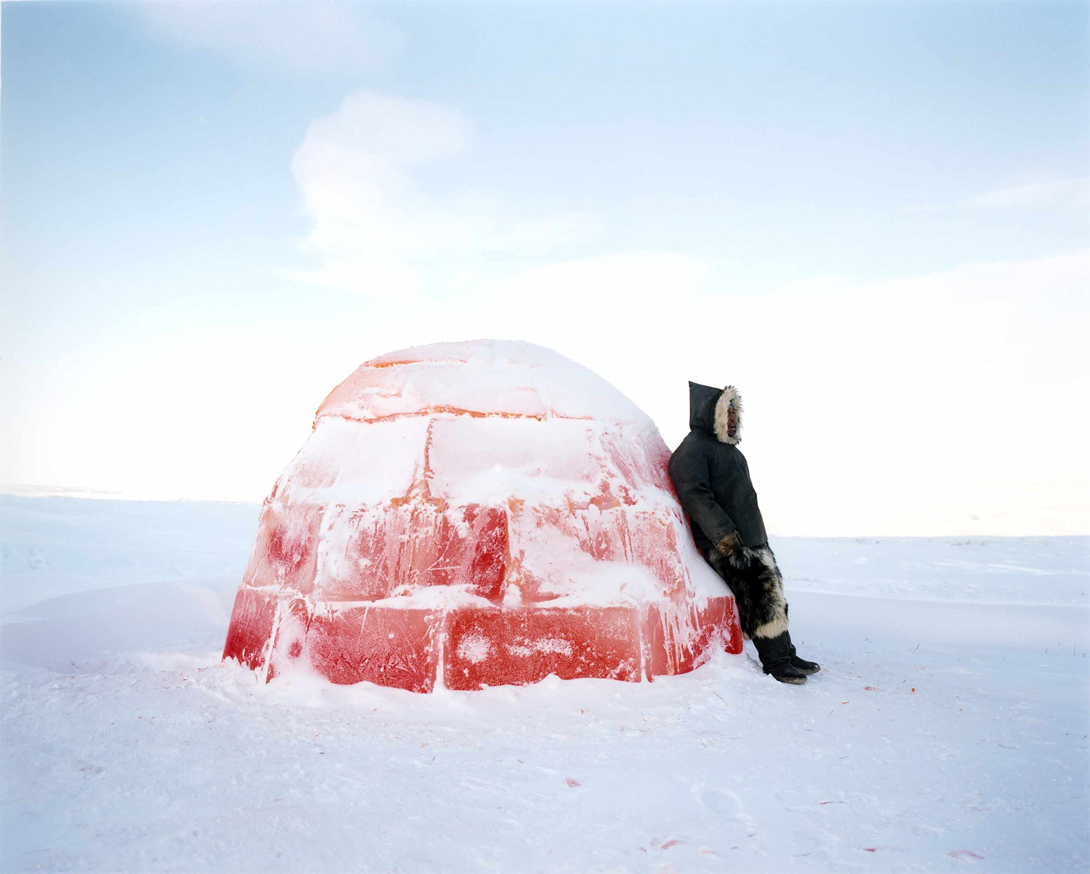 Igloo in the Canadian Arctic