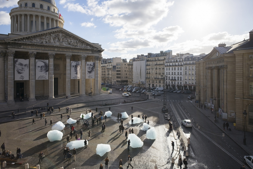 Climate Change Artwork at COP21 in Paris