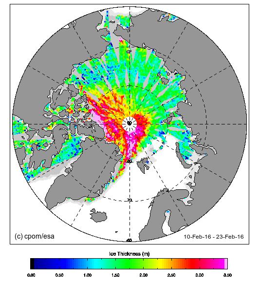 Cryosat Image Data (February2016)