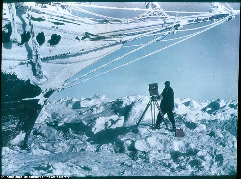 Frank Hurley - Antartic