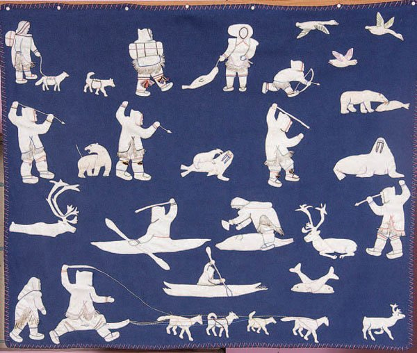 Inuit Stitched Wall Hanging