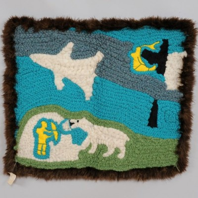 Inuit Woven Wall Hanging