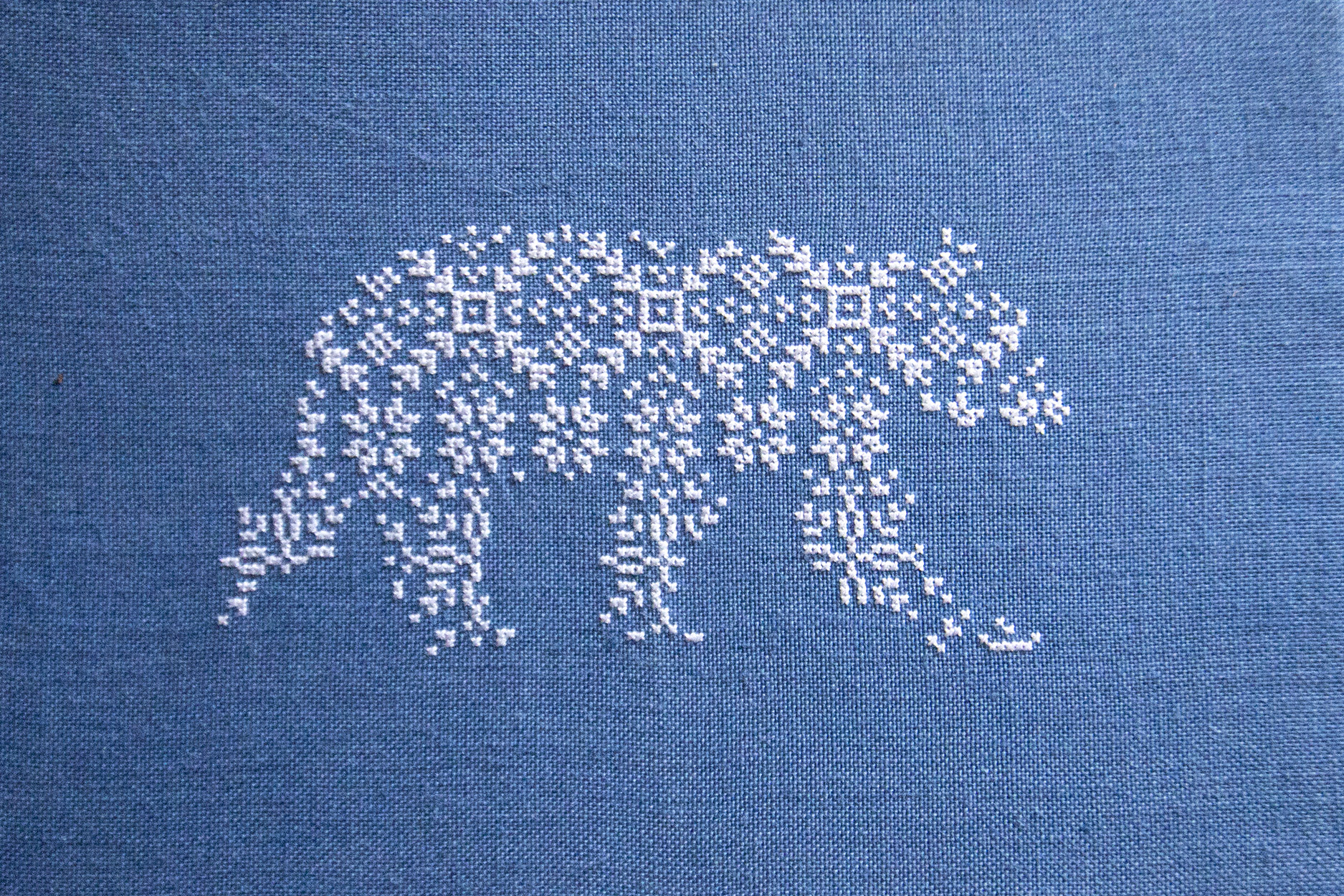Polar Bear Embroidery