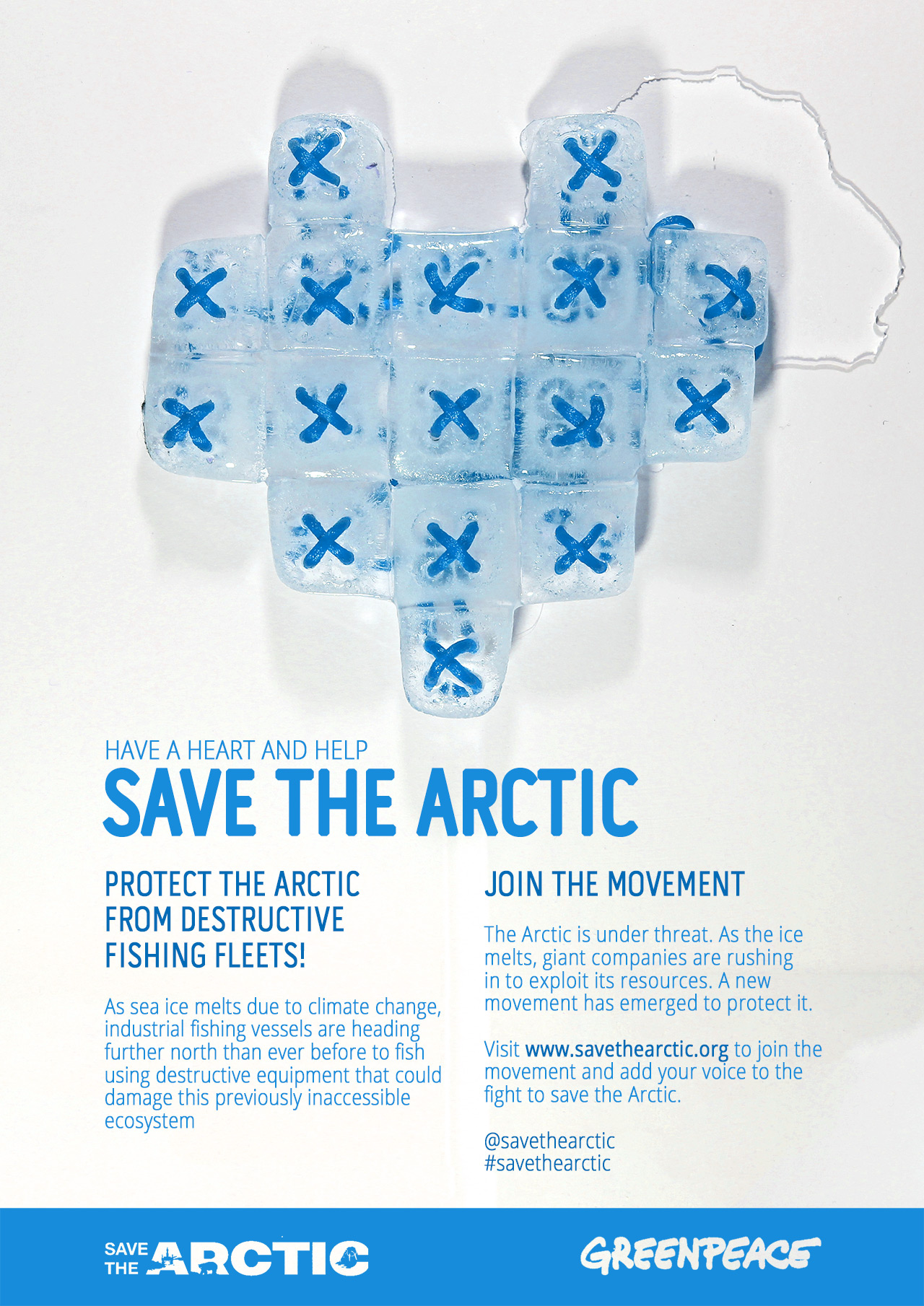 #savethearctic Poster Design Competition Entry