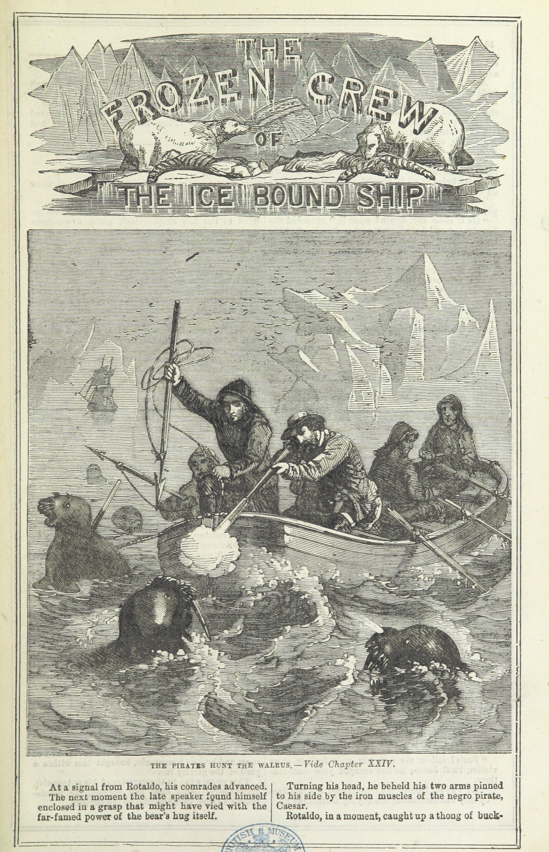 The Frozen Crew of an Ice Bound Ship