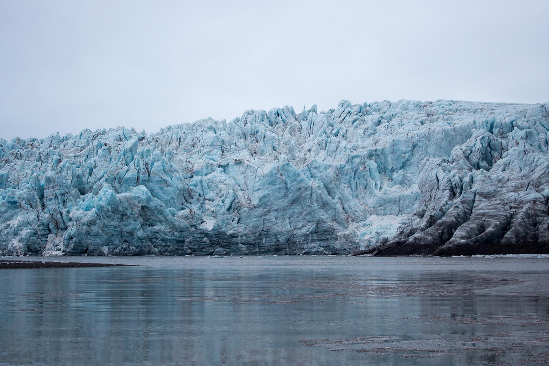 Esmarkbreen Glacier