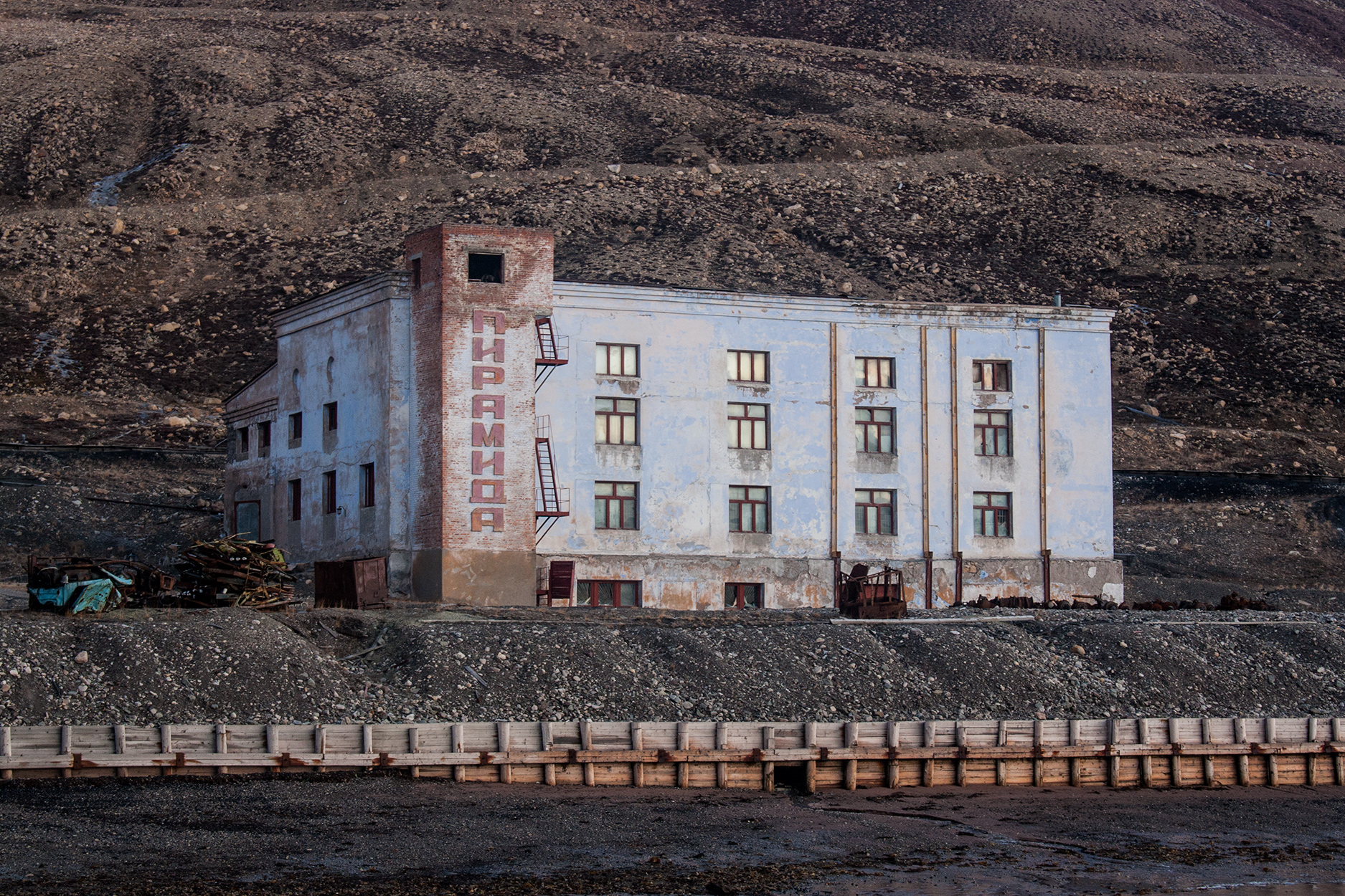 Pyramiden Ghost Town in the Arctic