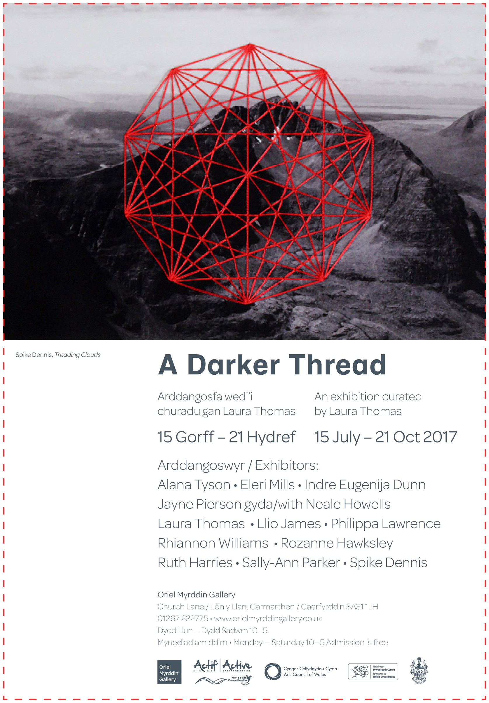 A Darker Thread exhibition at Oriel Myrddin Gallery Carmarthen