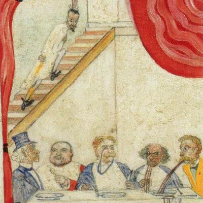 Les Cuisiniers Dangereux – James Ensor (Detail)