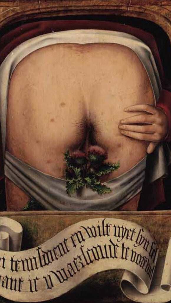 Anonym, Satirical Diptych 1520.